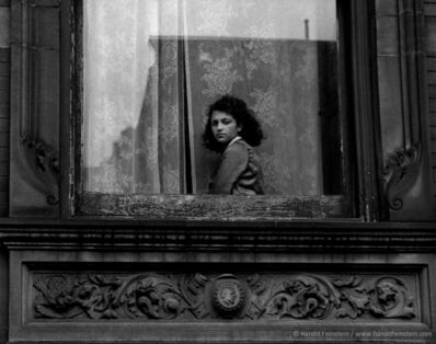 Harold Feinstein, 'Girl In Harlem Window', 1954