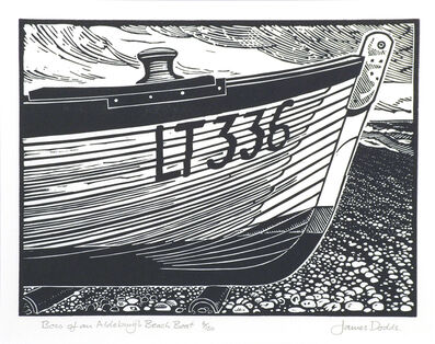 James Dodds, 'Bow of an Aldeburgh Beach Boat'