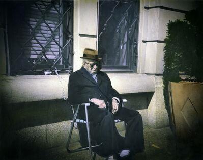 Leslie Hanes, 'Resting on Riverside'