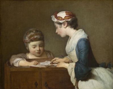 Jean-Siméon Chardin, 'The Little Schoolmistress', After 1740