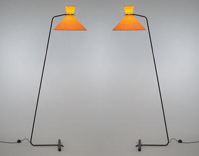 Robert Mathieu, 'Pair of floor lamps', ca. 1953