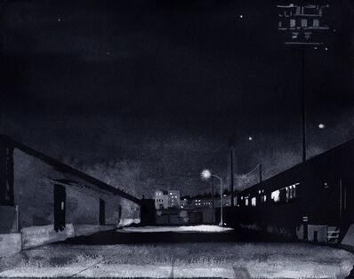 Cole Case, 'Nocturne: Anderson Street', 2015