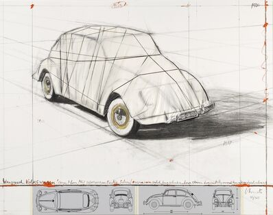 Christo and Jeanne-Claude, 'Wrapped Volkswagen', 2013