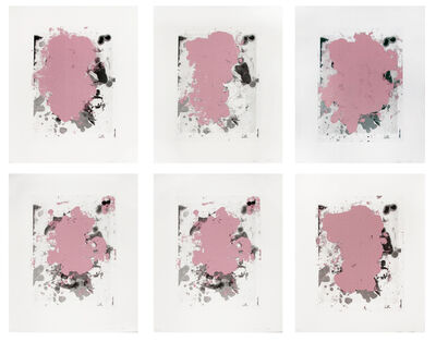 Christopher Wool, 'Portraits (Red)', 2014