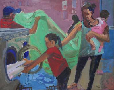 Dena Schutzer, 'Laundromat, Pink Sock', 2018