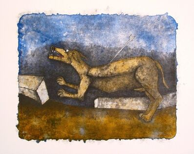 Rufino Tamayo, 'Wounded Dog', 1990