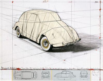 Christo, 'Wrapped Volkswagen, Project for 1961 Volkswagen Beetle Saloon', 2010-2020