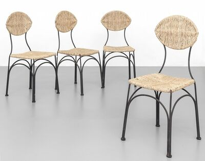 Tom Dixon, 'Four chairs 'Banana chairs' for CAPPELLINI anni '90.'