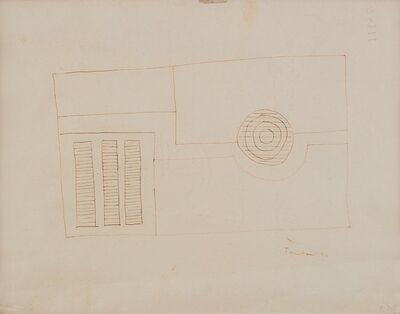 Lucio Fontana, 'Composizione astratta', 1934