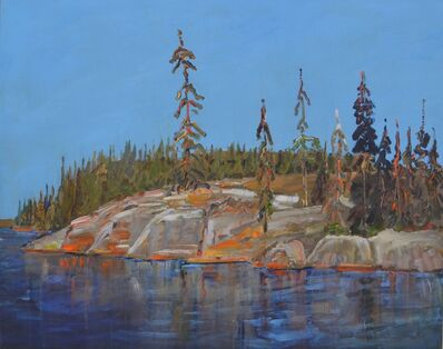 Gregory Hardy, 'Rocks and Trees, Late August'