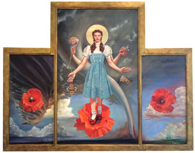 Carl Grauer, 'The Dorothy Altarpiece Triptych ', 2017