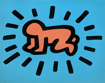 Keith Haring, 'RADIANT BABY (FROM ICON SERIES)', 1990