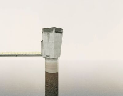 Edgar Martins, 'Caldeirao Dam water intake tower for hydraulic circuit from the series The Time Machine', 2011
