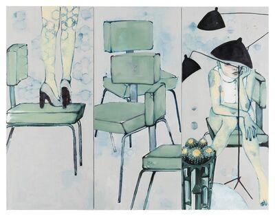 Sara Berman, 'Neutra's Legs Eleven (Triptych)', 2017