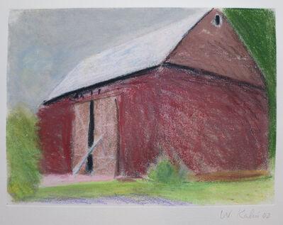 Wolf Kahn, 'Barn with Propped Door II', 2002
