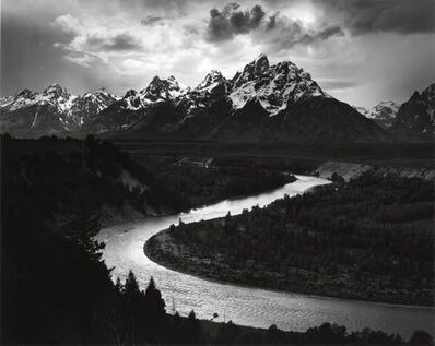 Ansel Adams, 'Tetons and Snake River, Grand Tetons National Park', 1942