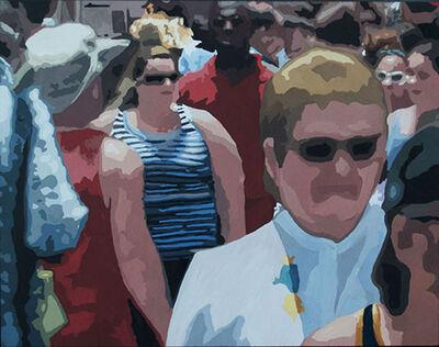 James Oliver (1972), 'Crowd (Composition #17)'