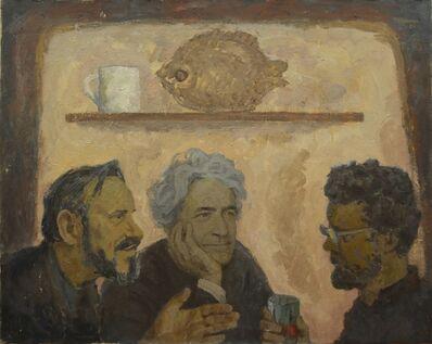 Vadim Semenovich Velichko, 'Chat (Dimitrev, Puzhin and Velichko)', 1984