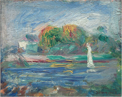 Pierre-Auguste Renoir, 'The Blue River', ca. 1890/1900