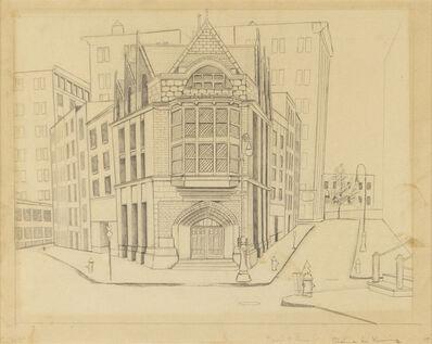 Elaine de Kooning, 'Untitled (Pearl & Broad St.)', 20th Century