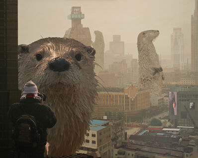 Caleb Brown, 'Otter City 2'