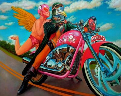FRANCISCO VILCHEZ, 'Angels of the road', 2015