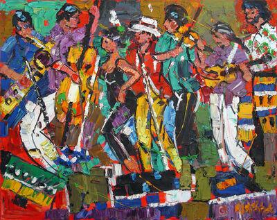 Marcel Kahhak, 'Cabaret Diosa Band', 2001