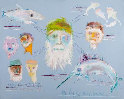Won Kuk Woo, 'Oldman and Sea', 2014