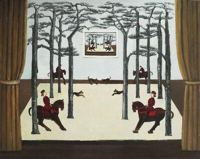 Liu Yujie 刘玉洁, ' Hunting in forest NO.3', 2013