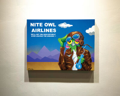 Nite Owl, 'Nite Owl Airlines: Too High, Too Fly', 2017
