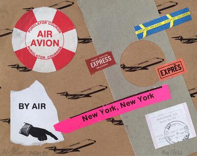Nathan Gluck, 'By Air / Air Avion', 1995