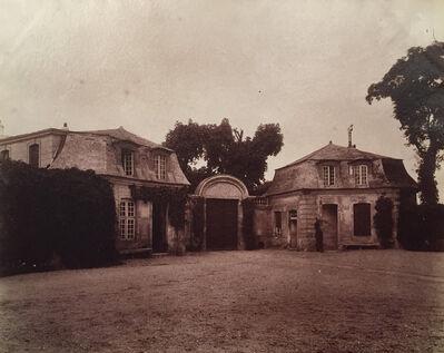 Eugène Atget, 'Vitry - Chateau XVIIe Siecle', 1901