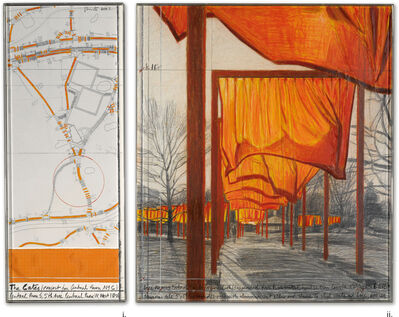 Christo, 'The Gates (Project for Central Park, NYC)'