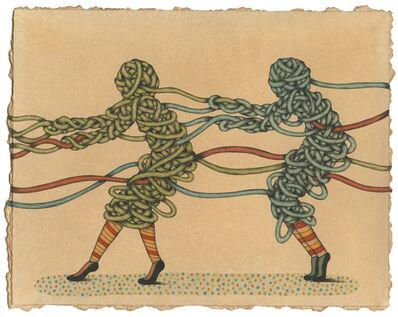 Mel Kadel, 'Tug the Ties', 2014