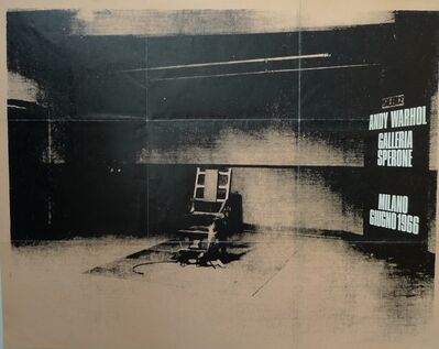 Andy Warhol, 'Electric Chair', 1966