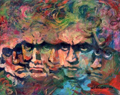 Victor Victori, 'Beethoven', 1986