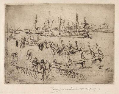 James Abbott McNeill Whistler, 'LITTLE DORDRECHT (K. 243; G. 260)', 1886