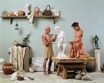"""Eleanor Antin, 'The Artist's Studio from """"The Last Days of Pompeii"""" prototype', 2002"""