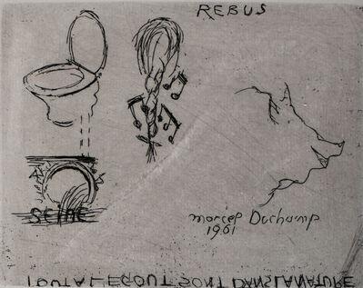 Marcel Duchamp, 'Rebus', 1961