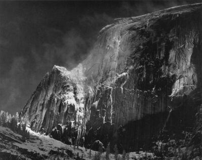 Ansel Adams, 'Half Dome, Blowing Snow, Yosemite National Park, CA', ca. 1955