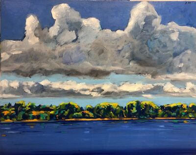 Anthony Montanino, 'Clouds Over the River III', 2018