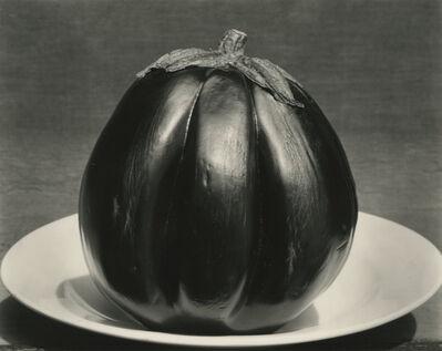 Edward Weston, 'Eggplant on Plate', 1929