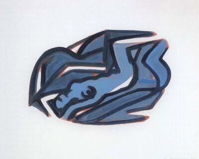 Tom Wesselmann, 'Blue Nude #5', 2002