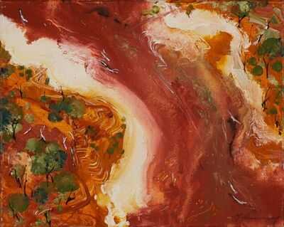 Peter McQueeney, ''Study for Above the Outback II'