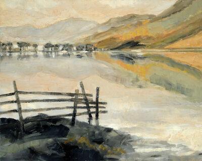 Simon Andrew, 'Buttermere with Orange Light'