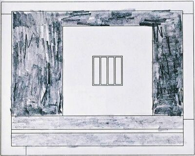 Peter Halley, 'Prison 14', 1995