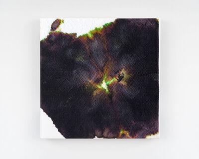 Justin Suazo, 'Piezo_Flora_003 (Black Hollyhock)', 2018