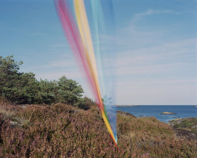 Ole Brodersen, 'String, cloth and kite #7', 2016
