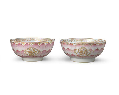 Porcelain, 'Two 'Lotus' Bowls', 1736-1795
