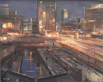 Steven Bewsher, 'Whitworth Street West at Night'
